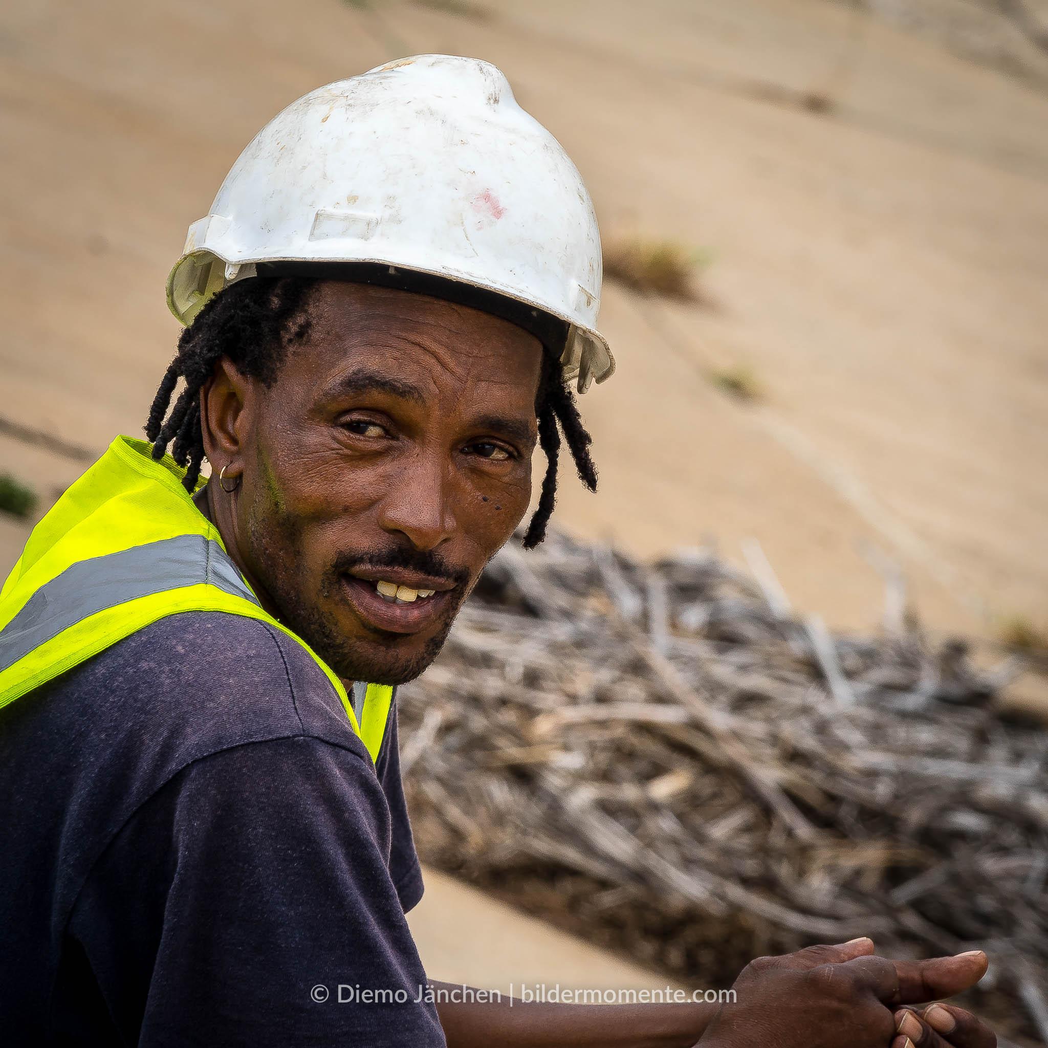 Bauarbeiter im Kruger National Park